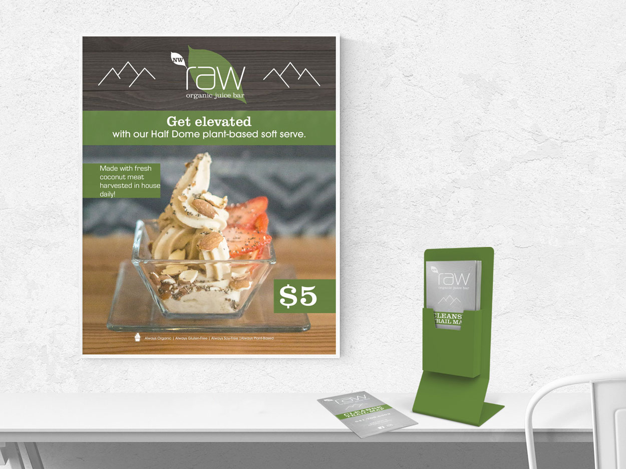 Graphic Design for poster and takeout menus