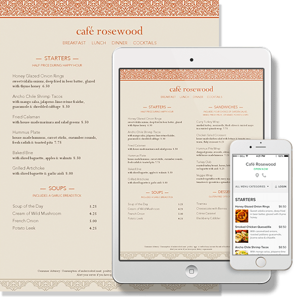 menus from MustHaveMenus