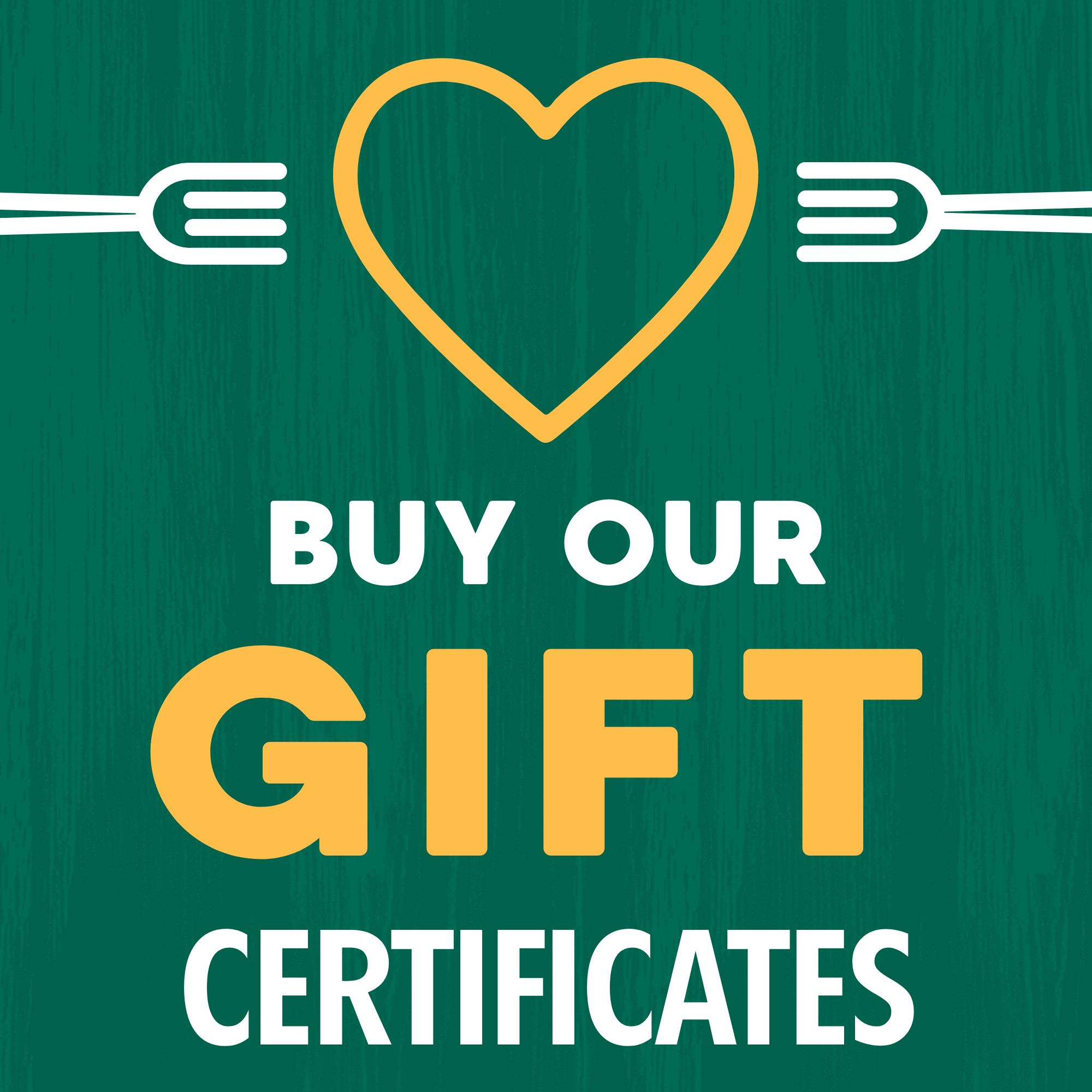 Gift Certificate Ad Instagram Post