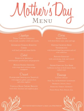 Holiday Menu Templates and Designs - MustHaveMenus