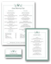 Buffet Breakfast Menu Set