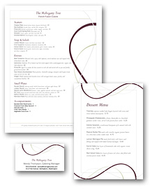 Wine Bar Menu Set