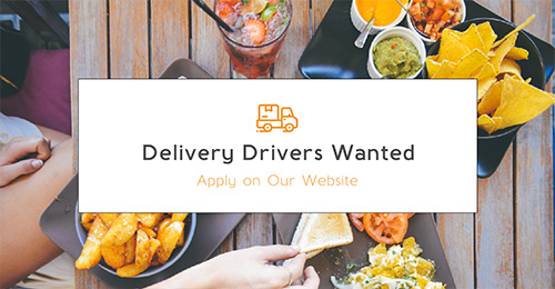 Delivery Drivers Facebook Post
