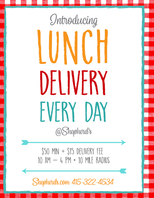Lunch Delivery Flyer