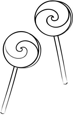 Lollipop Swirl Clipart